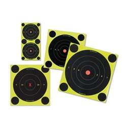 "Birchwood Casey Shoot-N-C, 8"" Bull's-Eye 6 Targets, 72 Pasters"