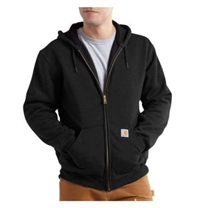 Carhartt Men's Rutland Thermal-Lined Hooded Zip-Front Sweatshirt