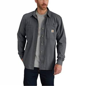 Carhartt Men's Rugged Flex Rigby Fleece-Lined Shirt Jacket