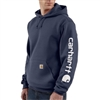 Carhartt Men's Midweight Hooded Logo Sweatshirt