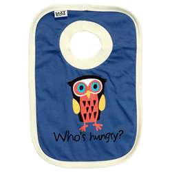 Lazy One Infant Boy's Who's Hungry Bib
