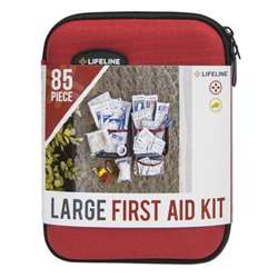 LifeLIne Large Hard -Shell Foam First Aid Kit
