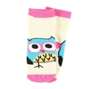 Lazy One Infant Owl Yours Pink Socks