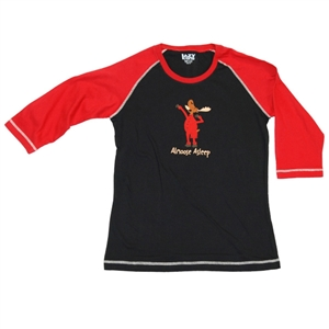 Lazy One Junior's Almoose Asleep Raglan Tee