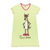 Lazy One Women's Not Tonight Deer V-Neck PJ Nightshirt