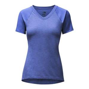 The North Face Women's Reactor V-Neck Short Sleeve Tee Shirt