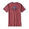 Patagonia Men's Fitz Roy Crast Cotton/Polly T-Shirt