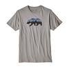 Patagonia Men's Fitz Roy Bear Organic Cotton Short Sleeve T-Shirt