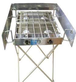 "Partner Steel 18"" Stove Stand"