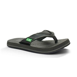 Sanuk Youth Root Beer Cozy Sandals
