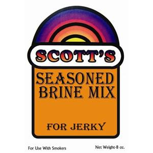Scott's Season Brine Mix for Jerky