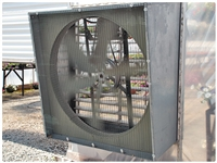 Galvanized Angle Wall Fan