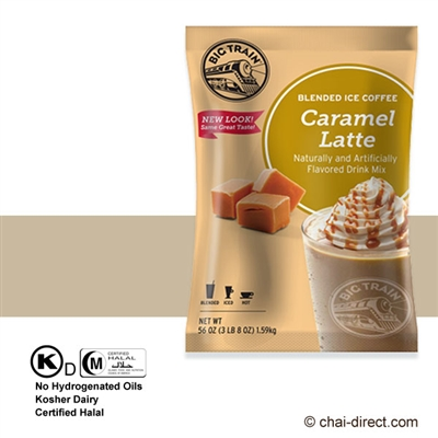 Photo of Caramel Coffee Flavored Ice Drink Mix by Big Train