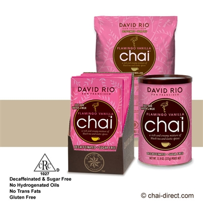 Photo of Flamingo Vanilla Decaf Sugar Free Chai Latte Mix by David Rio
