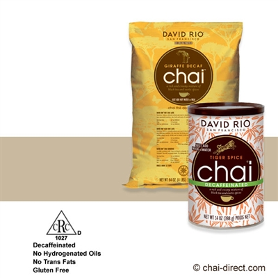 Photo of Giraffe Decaf Chai Latte Mix by David Rio
