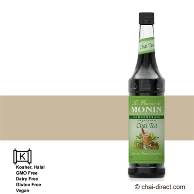 Photo of Gourmet Chai Flavor Super Liquid Concentrate by Monin