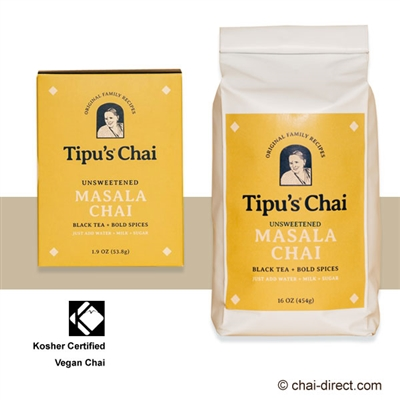 Photo of Authentic Chai Tea Latte Mix by Tipu's Chai