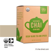 Photo of Decaf Slow Brew Traditional Chai Latte Mix by Tipu's Chai