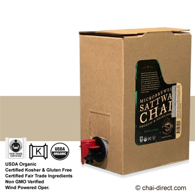 Photo of Traditional Chai Flavor Liquid Concentrate by Sattwa Chai
