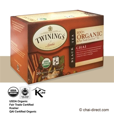 Photo of Organic Chai Loose Leaf Tea Bags by Twinings of London