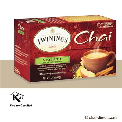 Photo of Spiced Apple Chai Loose Leaf Tea Bags by Twinings of London