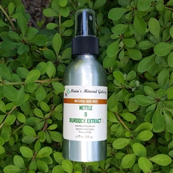 Natural Hair Mist - Nettle & Burdock Extract