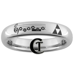 Zelda Song of Time Triforce Ring