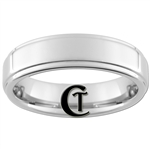 6mm Pipe 1-Step Tungsten Carbide Ring
