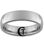 6mm Tungsten Carbide Dome Ring