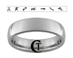 6mm Dome Tungsten Carbide Stargate Design