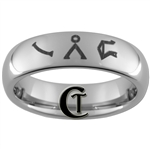 6mm Dome Tungsten Carbide Stargate Gate Address Symbols Design.
