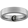 6mm Pipe Tungsten Carbide Barbed Wire Design Ring.