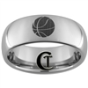 8mm Dome Tungsten Carbide Basketball Design