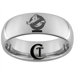 8mm Dome Tungsten Carbide Ghostbusters Laser Design