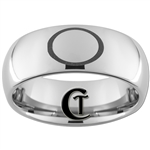 8mm Dome Tungsten Carbide Joseph Smith Eternity Circle Design