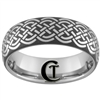8mm Dome Tungsten Carbide Celtic Design