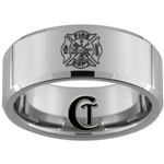 10mm Beveled Tungsten Carbide Fire Department Design