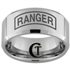 10mm Beveled Tungsten Carbide Ranger Design