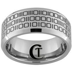 10mm Beveled Tungsten Carbide Binary Code Design