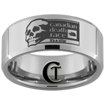 10mm Beveled Tungsten Carbide Canadian Death Race Design