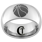10mm Dome Tungsten Carbide Basketball Design