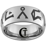 10mm Dome Tungsten Carbide Stargate SGU Destiny Design