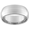 10mm Dome Tungsten Carbide Two Lasered lines Design