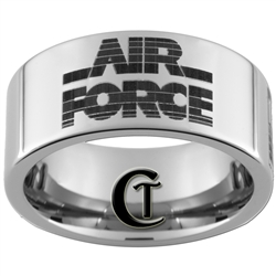 10mm Pipe Tungsten Carbide Air Force Design