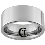 10mm Pipe Tungsten Carbide Polished Ring