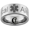 10mm Pipe Tungsten Carbide Medical Alert Design