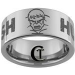 10mm Pipe Tungsten Carbide Hulk Smash Design