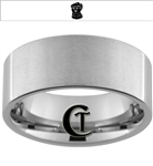 10mm Pipe Tungsten Carbide Thanos Gauntlet Ring Design