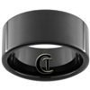 11mm Black Pipe Tungsten Carbide Ring