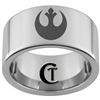 12mm Pipe Tungsten Carbide Rebel Alliance Design